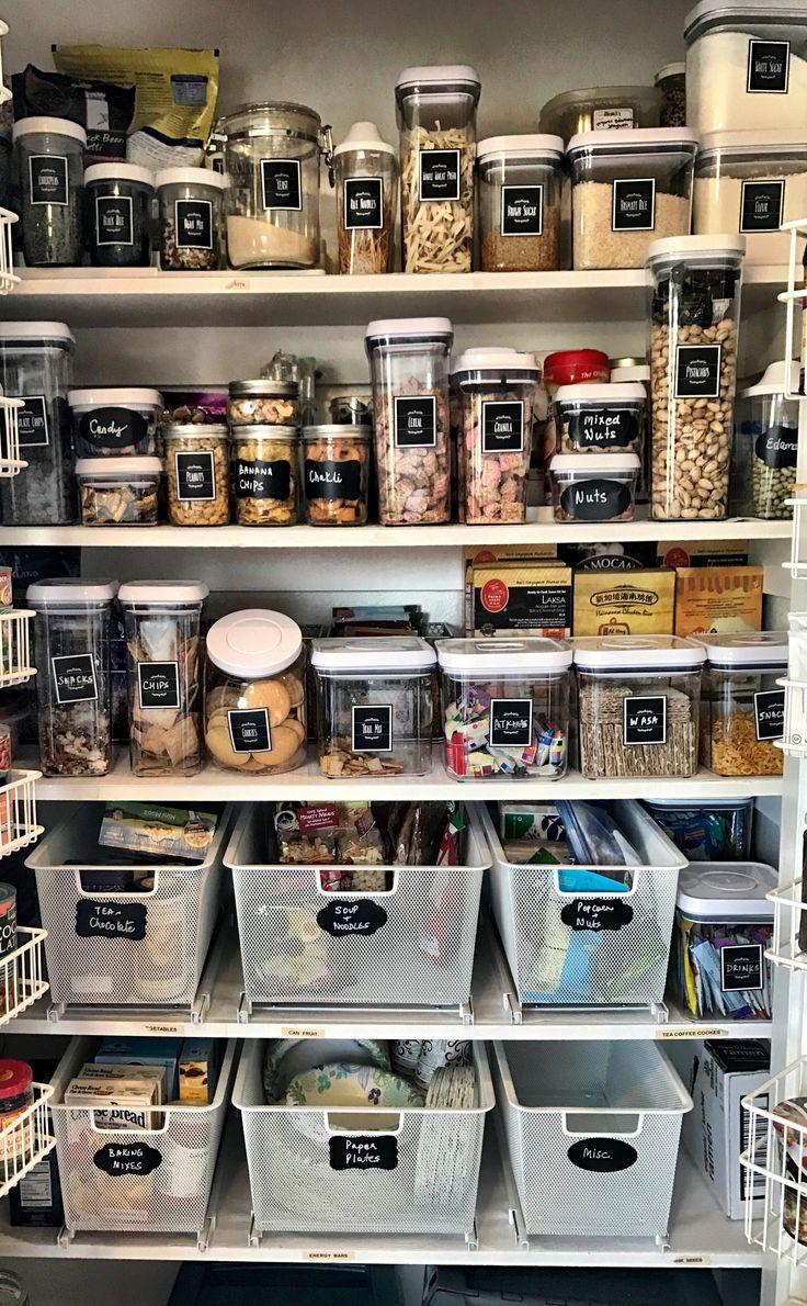 Finally got my pantry organized!