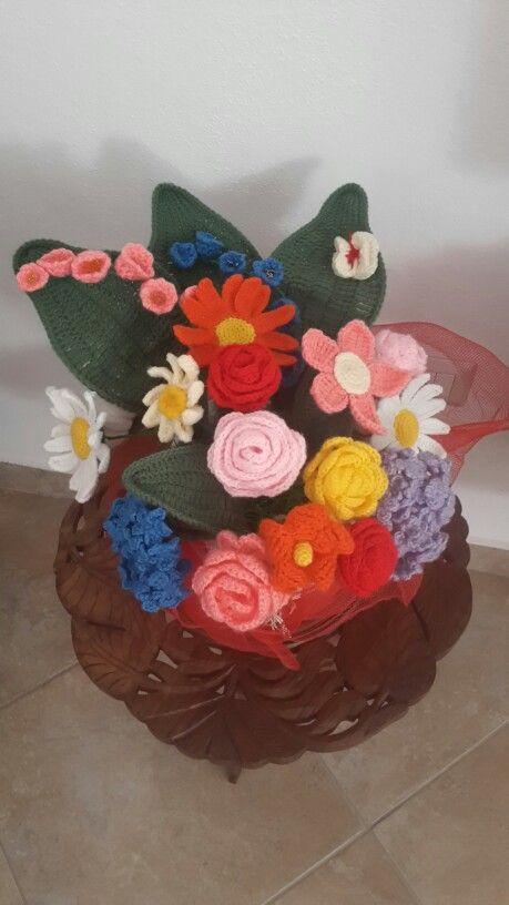 #flowerscrochetbouquet