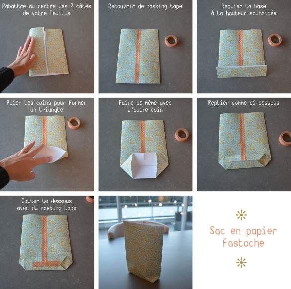 tuto sac papier                                                                                                                                                                                 Plus