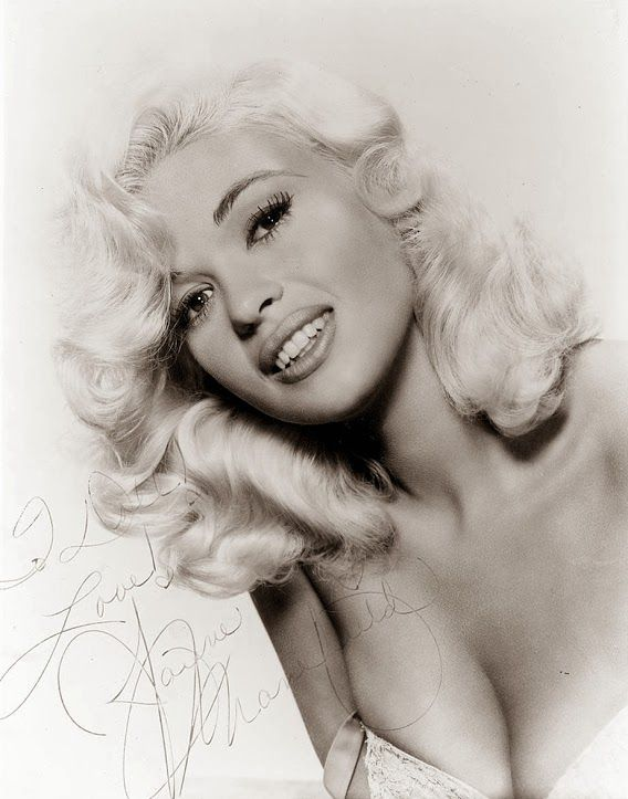Wedding hair! Jayne Mansfield - insanely beautiful! Even thought Jayne is known for her physical attributes, the fact is Jayne came from educated people(Bryn Mawr, Pa) and had quite a high IQ herself to be honest. She went to college in Texas before being discovered by scouts. (1933-1967)