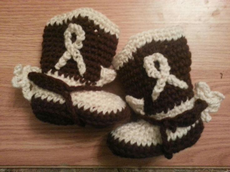 Free Crochet Pattern Baby Cowboy Boots : Free Infant Cowboy Boot Crochet Pattern crochet ...