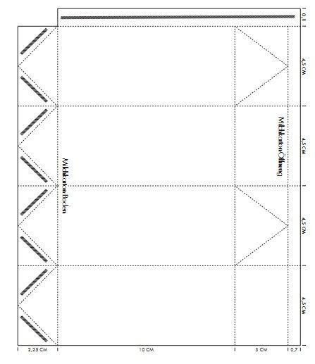Kaufladen: Milchkarton basteln http://www.nido.de/s/wp-content/uploads/2012/09/Milchkarton.pdf