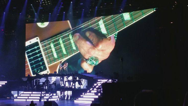 Guns N Roses - Wish You Were Here, Pink Floyd cover (TD Garden Boston, M...