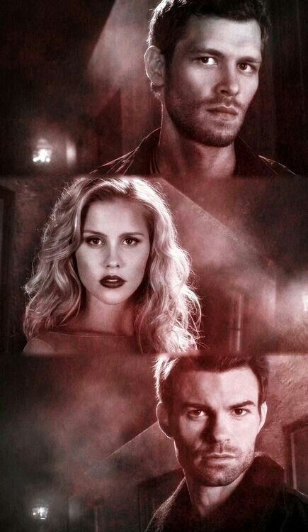 Not just the girls - the guys are hunky/hot too. The Vampire Diaries - The Originals