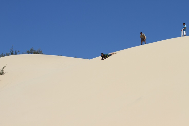 Tobaganing in Agnes Water, Qld, Australia