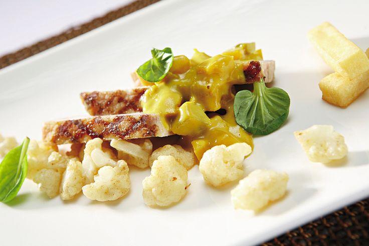 Een overheerlijke gegrilde varkenskotelet 'cross and blackwell', die maak je met dit recept. Smakelijk!