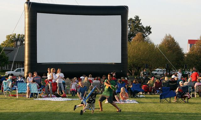 Here's your kid-friendly guide to the cool places in and around D.C. to catch an outdoor movie and enjoy the sunset.