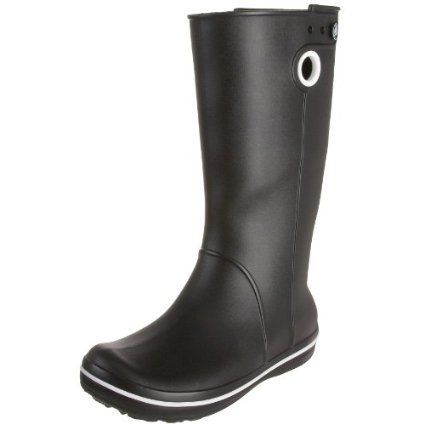 i love these boots! they are great for monsoon season here in south korea!Croc Women, Cowboy Boots, Rainboots, Rain Boots, Boots Croc, Crocband Jaunt, Jaunt Boots, Women Crocband, Croc Boots