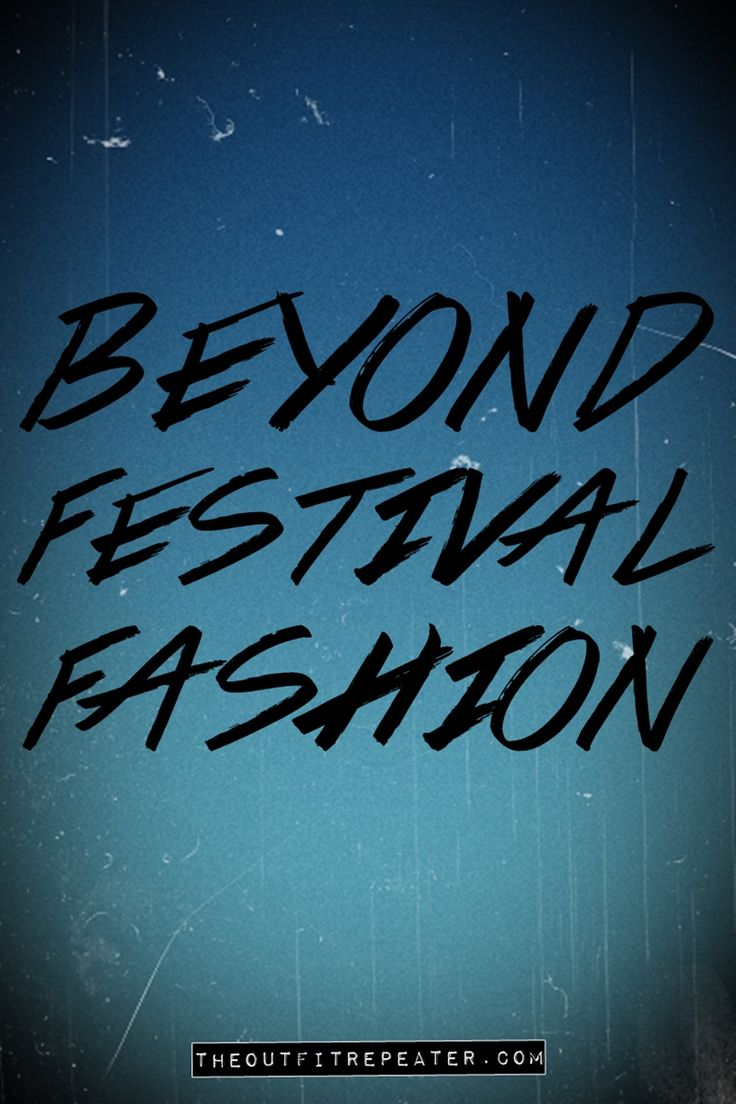 Festivals schmestivals! Click through to find out how to wear your concert clothes all year round.
