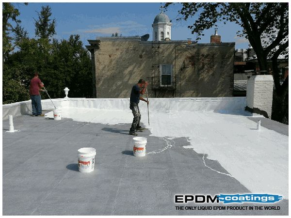 Great EPDM Rubber: A New Roof For A Fraction Of The Cost #EPDMRubber, #