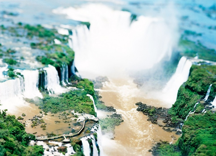 The Waterfall Project, Iguazu Argentina/Brazil, 2007