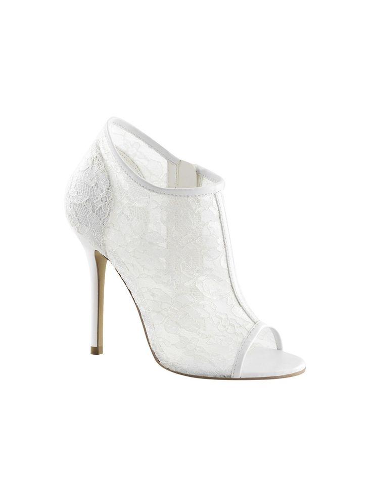 Chaussures à bout ouvert blanches Fashion bNGfd4HS