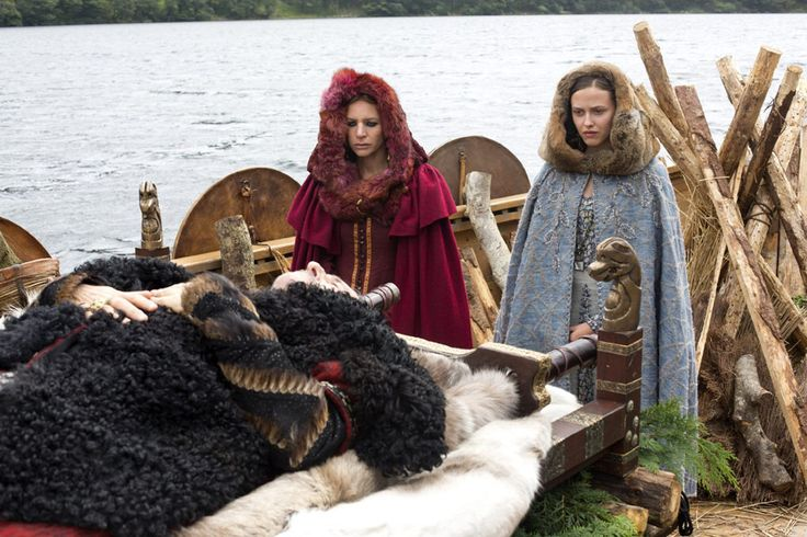 vikings - siggy and thyri