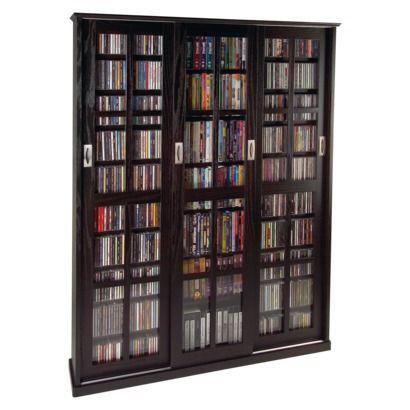 "$479.99  Multimedia Storage Cabinet - Espresso Dimensions: 61.81 "" H x 46.88 "" W x 9.44 "" D"