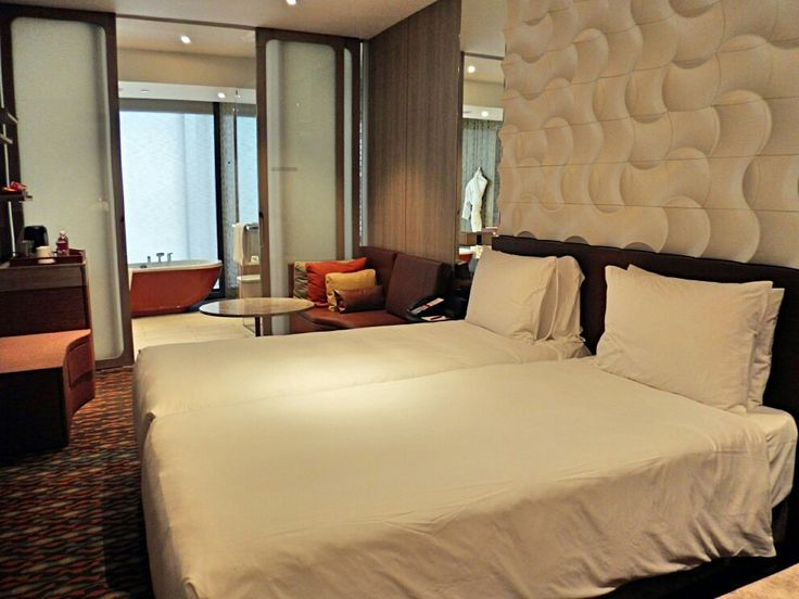 Our room at Crown plaza Changi May 2017