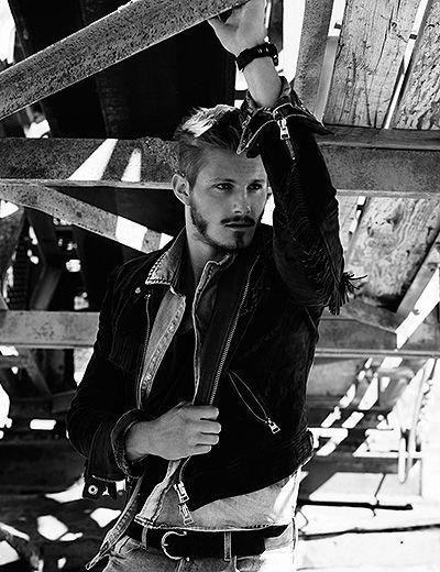 Александр Людвиг на страницах журнала Flaunt