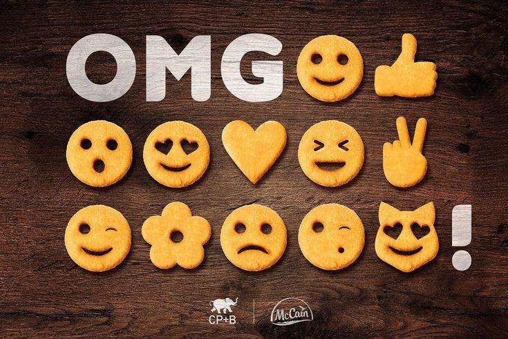 La fiebre de los emojis por parte de las marcas continúa. La última en sumarse a esta moda es McCain, que ha lanzado sus patatas fritas con la forma de diferentes emoticonos como los que usamos a diario en WhatsApp y otras redes sociales. Una idea de la agenciaCrispin [&hellip
