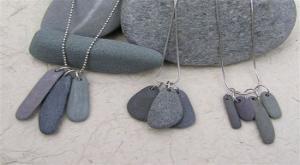 Strand stenen ketting