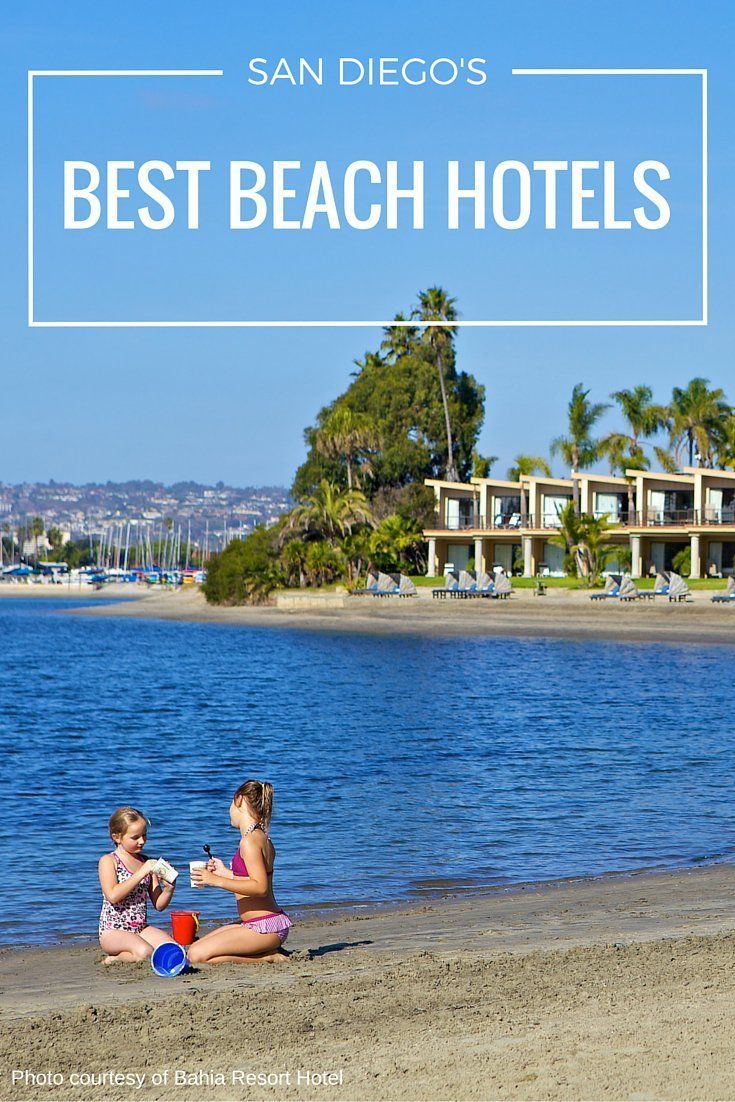Want to stay on the beach in San Diego? Here are the very best hotel options.