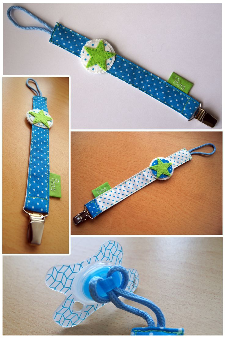 Made by Jolanda van den Hoven - Speenkoord - Baby Pacifier Clip