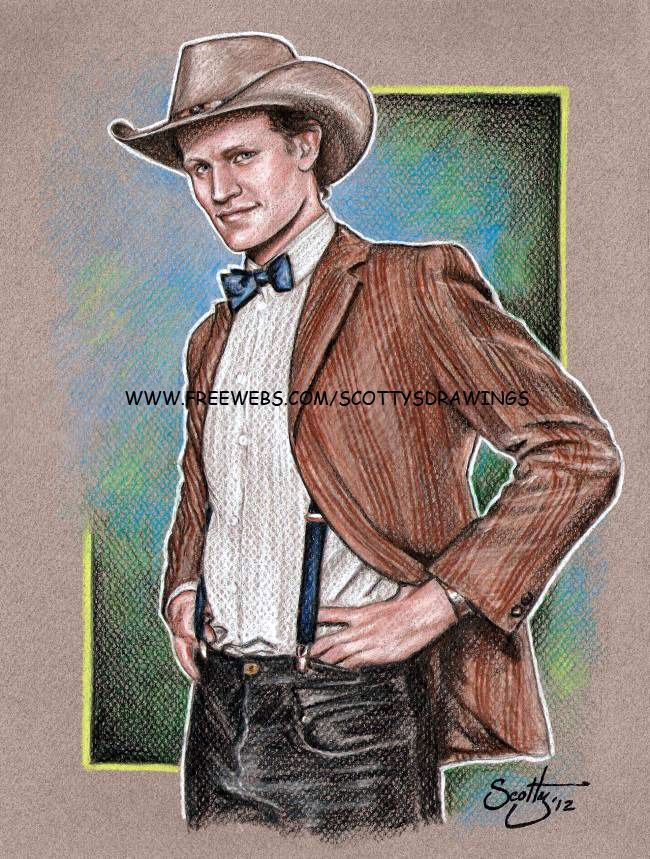 """11th Doctor (2012) by Scotty    """"Stetsons are Cool""""    Matt Smith"""