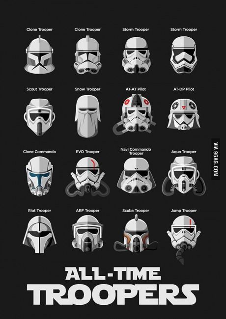 Trooper helmet designs