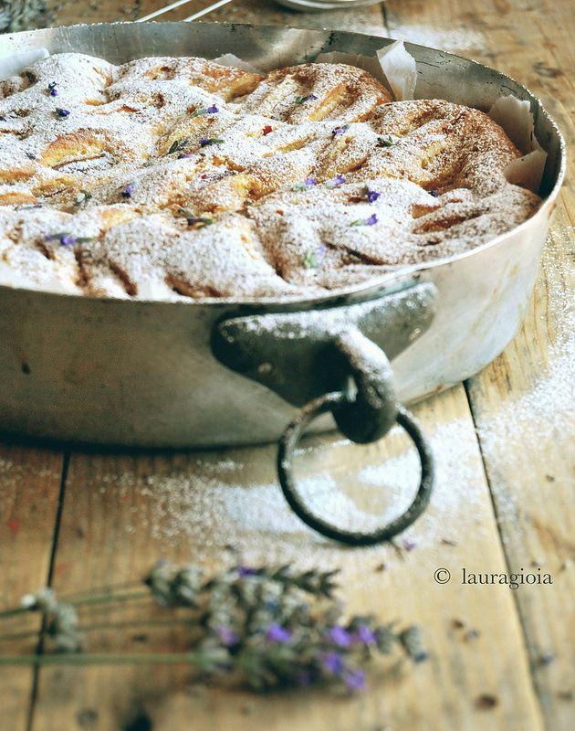 torta pesche&lavanda