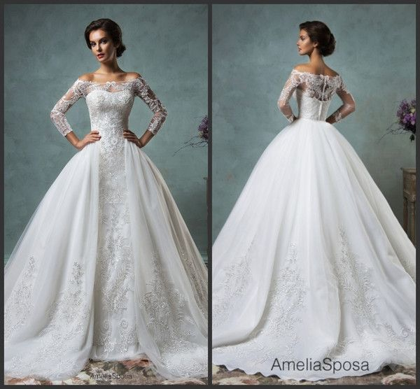 I found some amazing stuff, open it to learn more! Don't wait:https://m.dhgate.com/product/gorgeous-2016-sheer-amelia-sposa-wedding/255784530.html