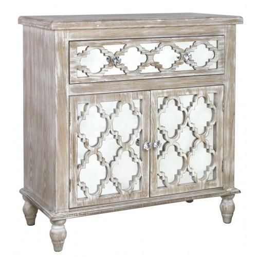 A little different is the Hamlin Beach 1 Drawer 2 Door Cabinet, Not only is it made from solid wood which is lightly limed but also has a useful storage area in