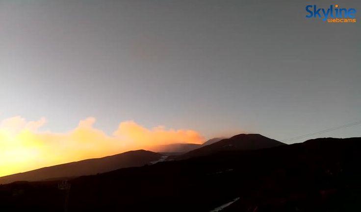 Live Webcam Vulcano Etna Sud - Crateri Sommitali