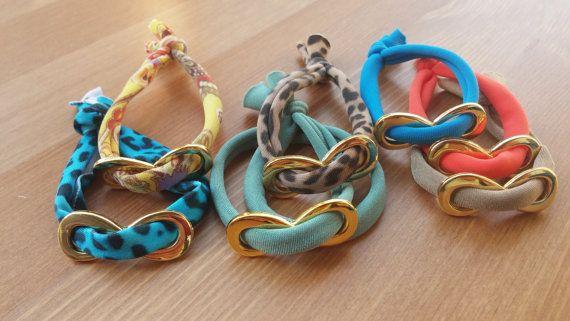 handmade ligres bracelets by toocharmy on Etsy
