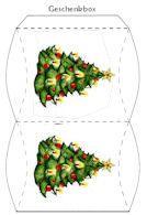 FREE printable box // Adventkalender drucken (Boite Pour Noel)