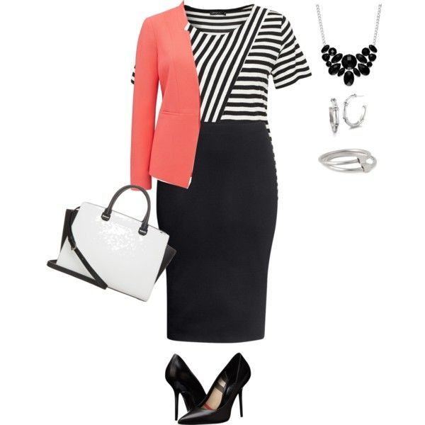 5 spring plus size work outfits - Page 4 of 5 - women-outfits.com #plus #plussize #work