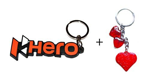 Tech Fashion Keychain Bike Hero Rubber Red Black Best Quality Gift by -TF-453 http://techfashion.in/product/tech-fashion-keychain-bike-hero-rubber-red-black-best-quality-gift-by-tf-453/ This listing is by Tech Fashion – TECHNO SOLUTIONS. If you do not see above Sold and fulfilled by TECHNO SOLUTIONS then Check Other Sellers on Amazon and order Genuine item from Tech Fashion TECHNO SOLUTIONS. Keychain Hero Rubber Red Black Metal Keyring for Car Bike House Office Key Ho