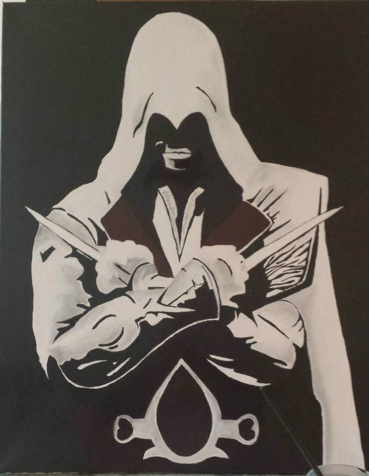 Ezio Auditore- Assissins Creed commission