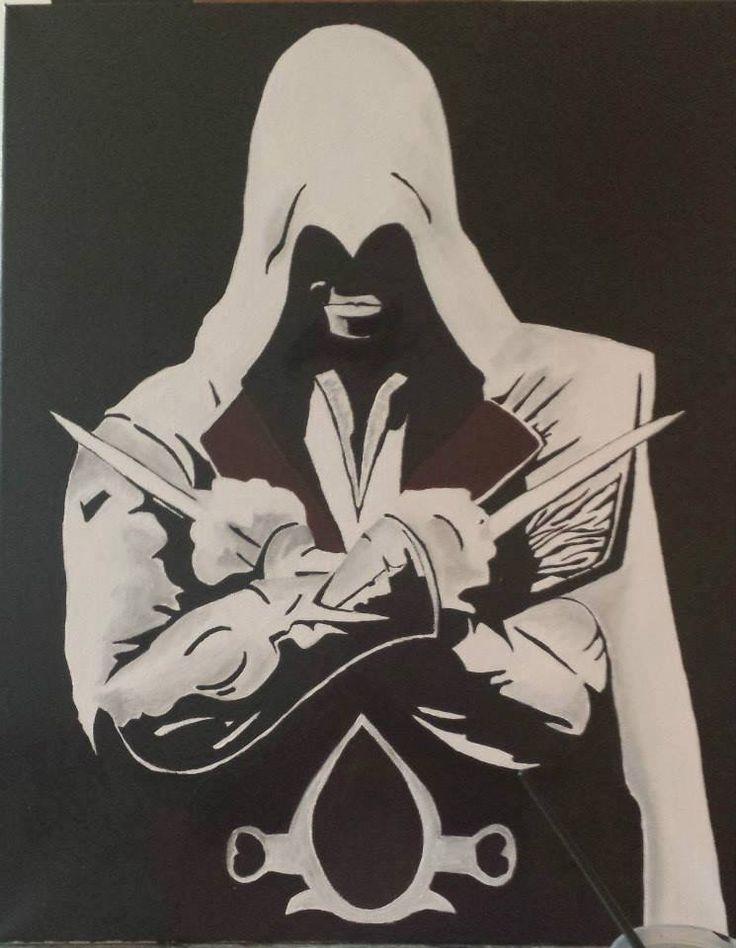 Ezio Auditore- Assissins Creed commission