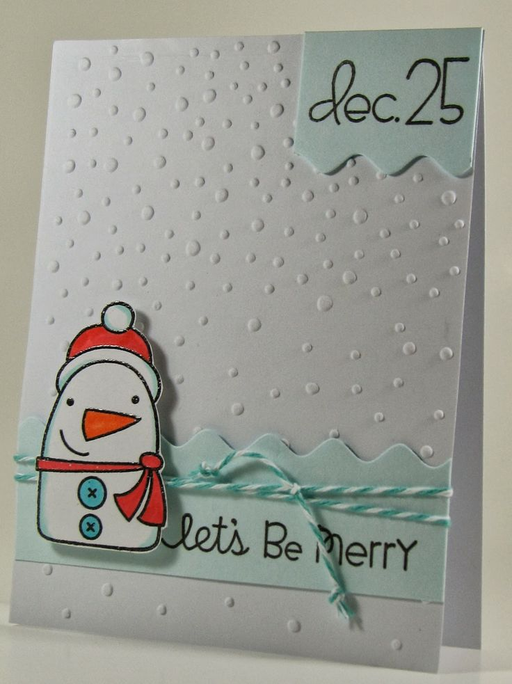 Paper Smooches Card Ideas | ... decided to make a Christmas cards for the Paper Smooches challenge