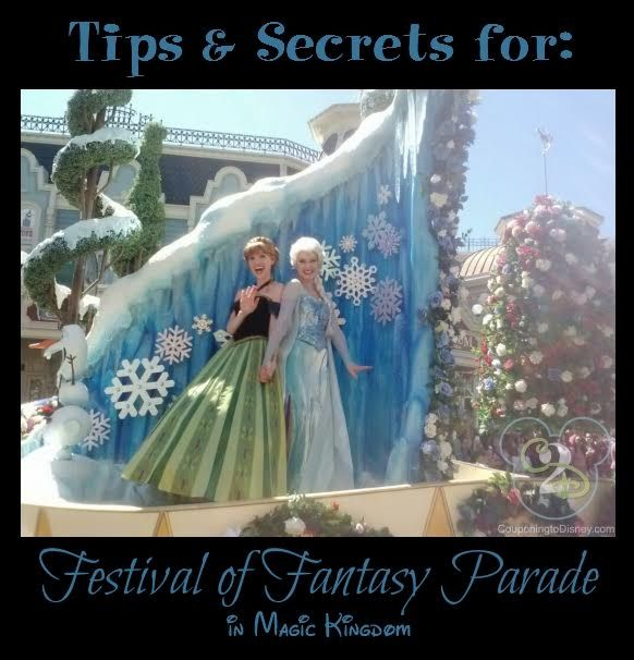 Tips and secrets for Festival of Fantasy Parade in the Magic Kingdom including my favorite viewing locations.