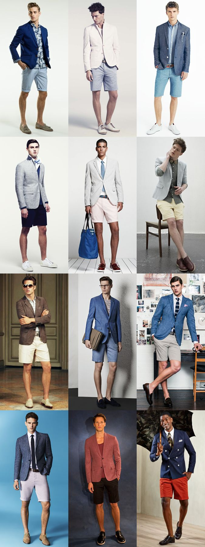 The short suit is becoming a popular choice for style-conscious gents who want to separate their tailoring collection and look from the crowd. Offering the perfect way to appear put together, stylish and at ease during the spring/summer months, they will also ensure you remain cool and comfortable as the temperature rises. We bring you some guidelines to keep in mind when purchasing a short suit and show you how to wear one in a variety of modern and stylish ways.