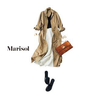 明日のコーデ、どうする?|ファッション|Marisol ONLINE|女っぷり上々!40代をもっとキレイに。