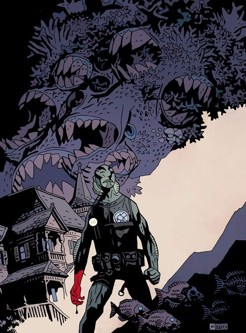 """Mike Mignola """"The Devil does not jest - trade cover"""""""