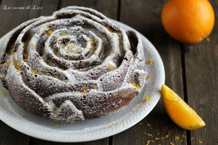 Torta+al+cacao+e+arancia