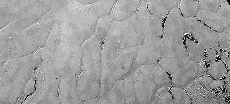 Photo de Pluton prise le 17 juillet par la sonde américaine New Horizons.