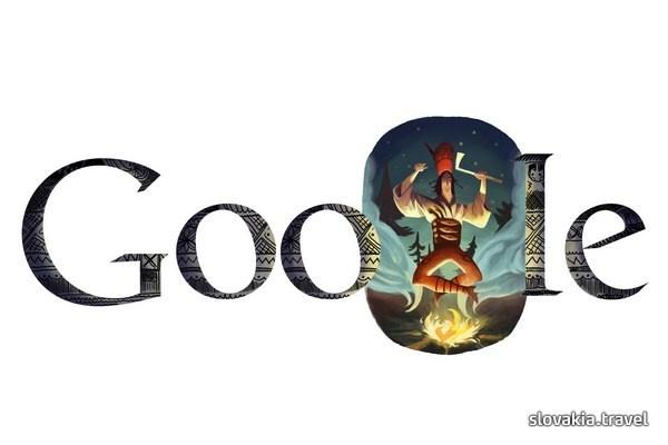 Juraj Jánošík on Google (325. birthday of national legend Jánošík)