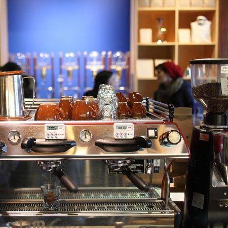THE 11 BEST INDIE COFFEE SHOPS IN AMERICA: Blue Bottle Coffee - San Francisco/New York