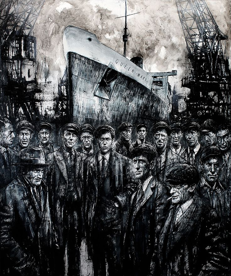RMS Queen Mary, by Ryan Mutter