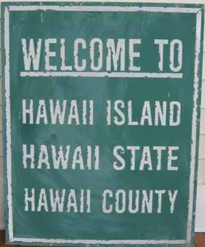 Hawaii is a state AND an island... WHAT?