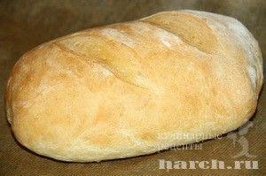 Апульский хлеб на ночной опаре-закваске. Простой итальянский хлеб, который долго не черствеет.