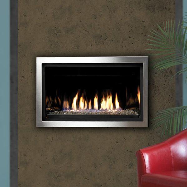 "Kingsman ZCVRB3622 Direct Vent Gas Fireplace - 36""   WoodlandDirect.com: Indoor Fireplaces: Gas"