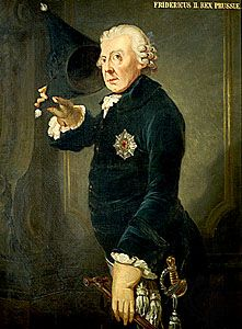 Frederick II, byname Frederick the Great, German Friedrich der Grosse   (born January 24, 1712, Berlin, Prussia [Germany]—died August 17, 1786